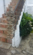 stairs to garden